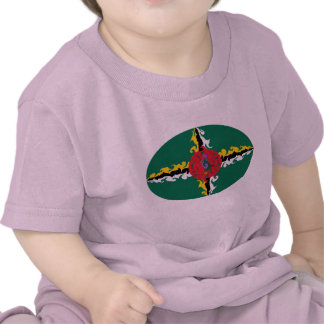 Dominica Gnarly Flag T-Shirt