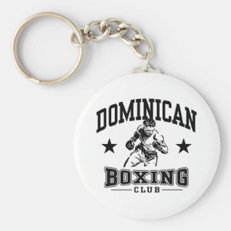 Dominican Boxing Key Ring