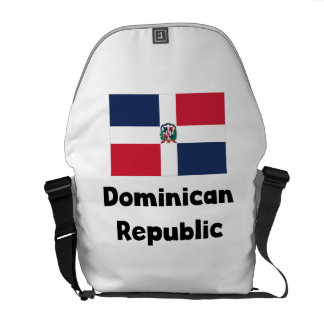 Dominican Flag Courier Bags