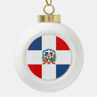 Dominican Republic Ceramic Ball Decoration