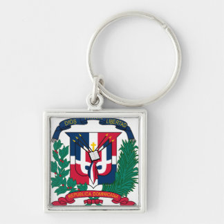Dominican Republic Coat of arms  DO Key Ring