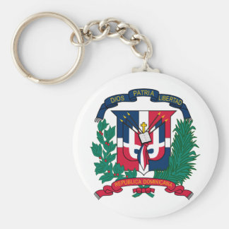 Dominican Republic coat of arms Key Ring
