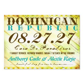 DOMINICAN REPUBLIC Destination Invitation