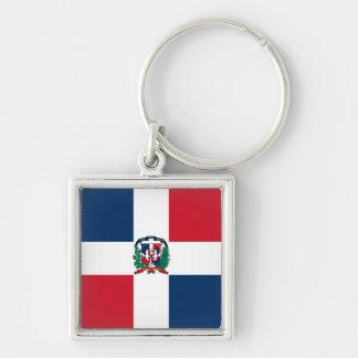 Dominican Republic Flag DO Key Ring