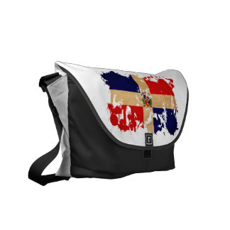 Dominican Republic Flag Courier Bag