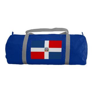 Dominican Republic Gym Duffel Bag