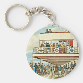 Dominion Line ~ Liverpool to Canada Key Ring