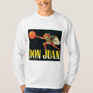 Don Juan Orange Vintage Label T-Shirt