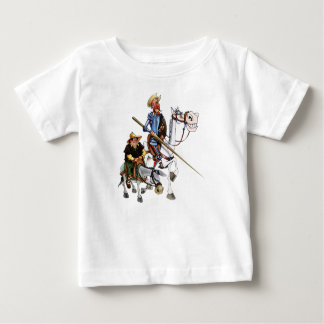 DON QUIJOTE, SANCHO, ROCINANTE- T-SHIRT Camiseta