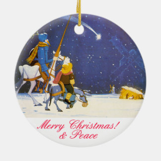 DON QUIXOTE - Adorno de Navidad Round Ceramic Decoration