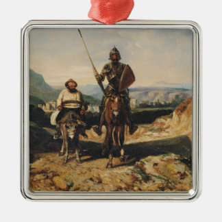 Don Quixote and Sancho Christmas Ornament