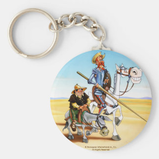 DON QUIXOTE & SANCHO KEYCHAIN- IVth. Centenary Key Ring