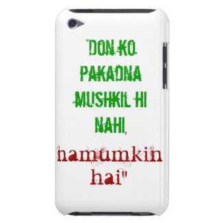Don Quote iPod Touch 4G Case iPod Touch Cover