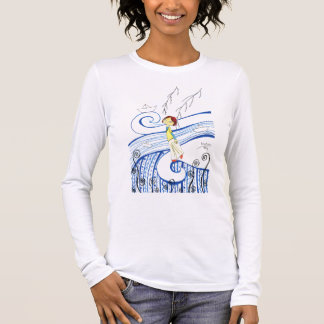 Don´t stop sailing my little boat long sleeve T-Shirt