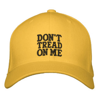 Don t Tread On Me Embroidered Baseball Cap