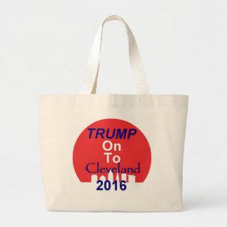 Donald TRUMP 2016 Large Tote Bag