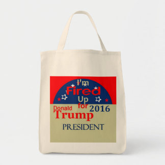 Donald TRUMP 2016 Tote Bag