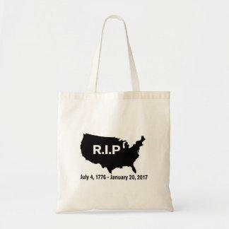 Donald Trump, Inauguration RIP America