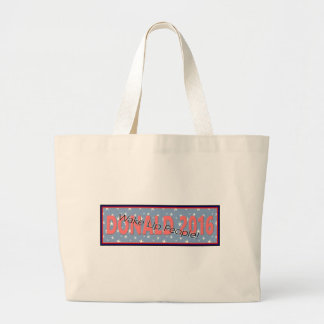 Donald Trump joke Quote Government Stupid Large Tote Bag