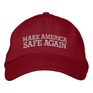 Donald Trump - Make America Safe Again Embroidered Hat