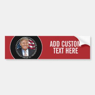 Donald Trump Photo - President 2016 Bumper Sticker