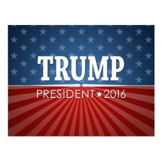 Donald Trump - President 2016 Postcard