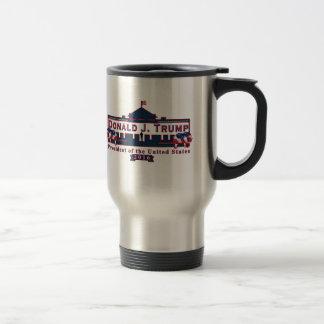 Donald Trump Red White Blue 15 oz Coffee Mug