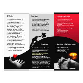 Donations Brochure 21.5 Cm X 28 Cm Flyer