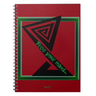 DonCP Free your mind Note Book
