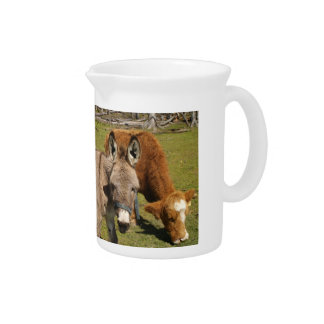 Donkey and Cow Pitcher