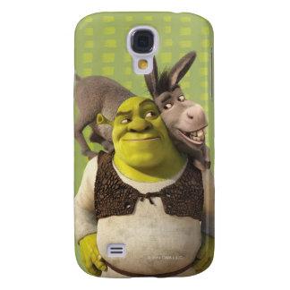 Donkey And Shrek Galaxy S4 Case