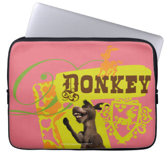 Donkey Graphic Laptop Sleeve