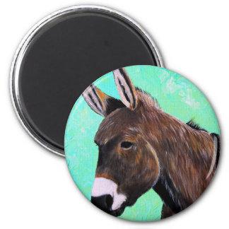 Donkey Painting Magnet