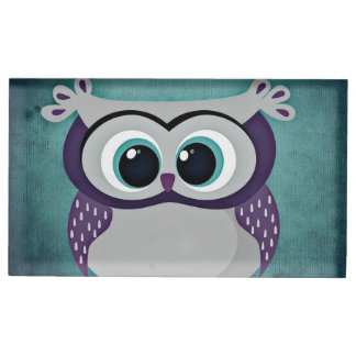 Don't Be Blue Owl Table Card Holders
