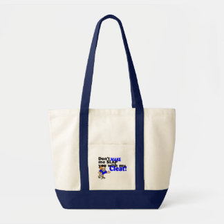 Dont Make Me Slap You With My Cleat (Football) Impulse Tote Bag