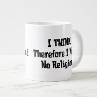 Don't Need Religion Jumbo Mug