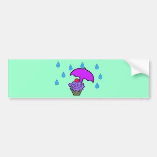 Don't Rain On My Cupcake Bumper Stickers