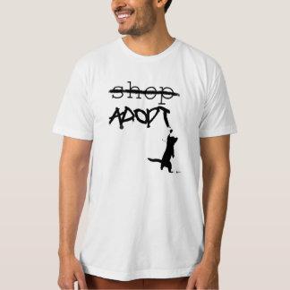 """Don't Shop - ADOPT"" Tshirts"