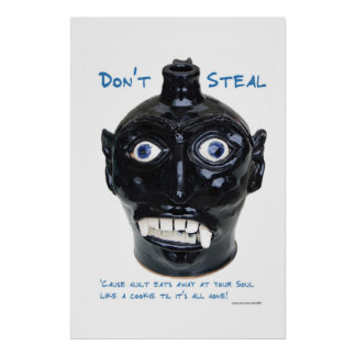 Don't Steal Poster
