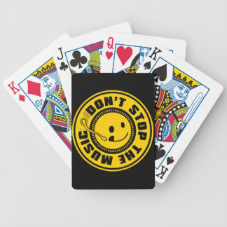 DON'T STOP THE MUSIC BICYCLE PLAYING CARDS