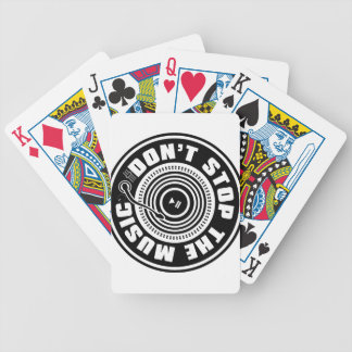 DON'T STOP THE MUSIC POKER DECK