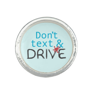 Don't Text and Drive Safety Message