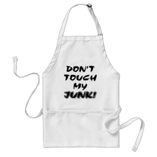 Don't Touch My Junk Standard Apron