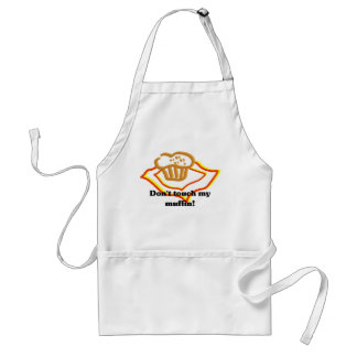 Don't Touch My Muffin Standard Apron
