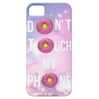 don't touch my phone barely there iPhone 5 case