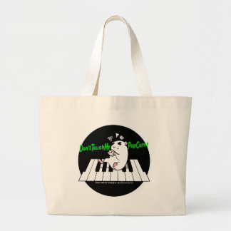 Don't Touch My Popcorn! Jumbo Tote Bag