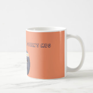 Don't touch queen's mug