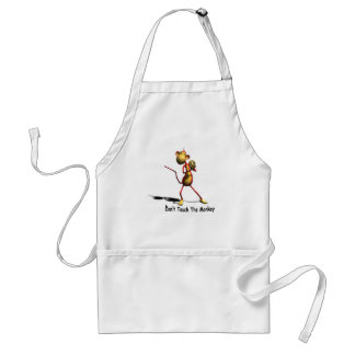 Don't Touch The Monkey Grillin' Apron