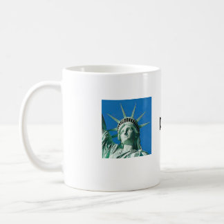 Don't touch this basic white mug