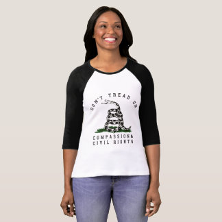 Don't Tread on Civil Rights Snake Women's T-Shirt